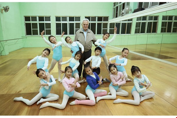 Father Michelini encourages children to study dance from an early age to improve their posture and self-confidence, and to learn to appreciate the beauty of the art form.