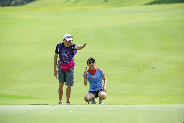 "Teresa Lu, Taiwan's ""first sister of golf,"" has enjoyed a brilliant career in Japan on the JLPGA. She was one of the stars who attracted the most attention at the Ta Shee tournament."