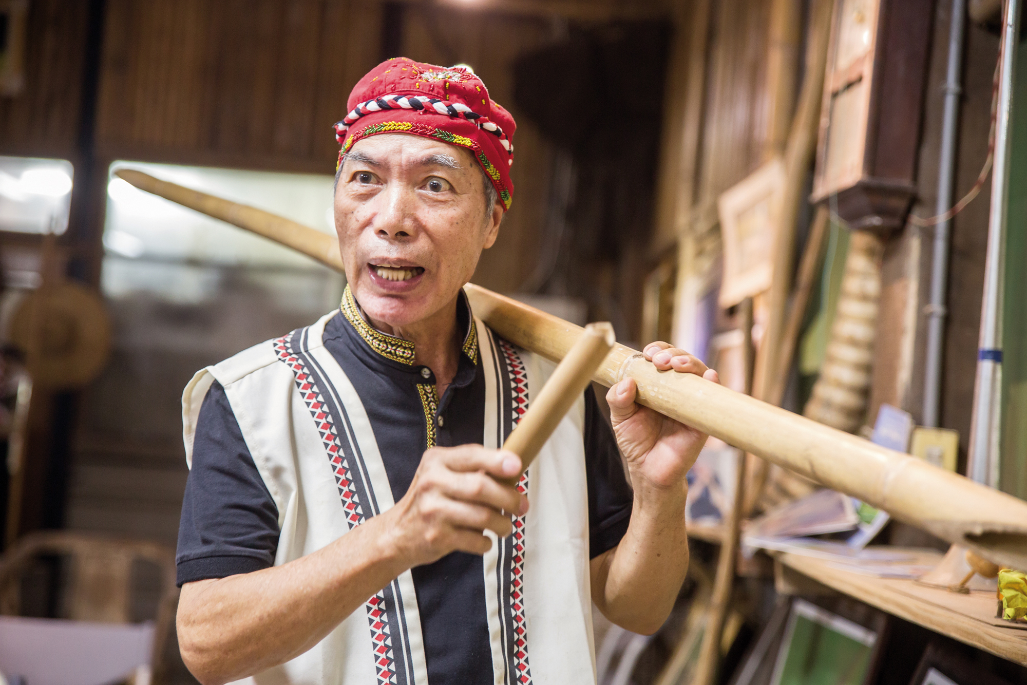 Cheng-hiong Taalavan has been working all his life to awaken the descendants of the Pingpu Aborigines to awareness of their own identity.