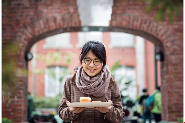 For Ann Huang, relying on surplus ingredients to make her desserts is both a challenge and a moral imperative. (photo by Lin Min-hsuan)