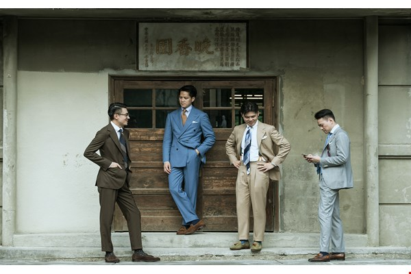 Classics Never Go Out  of Style —The Return of the  Bespoke Suit (photo by Chuang Kung-ju)