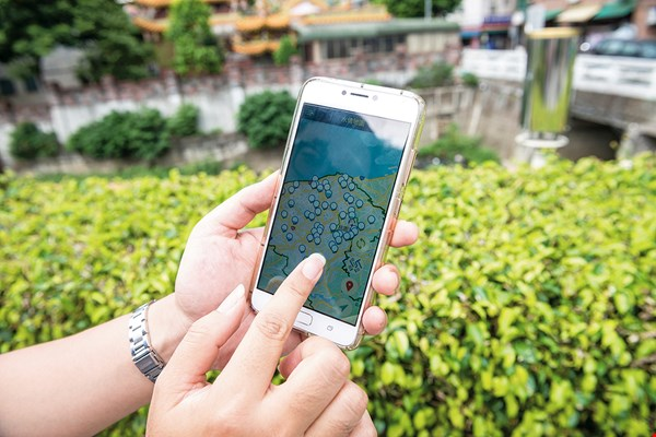 Taoyuan residents can download an app to receive real-time information about flooding and evacuation centers.