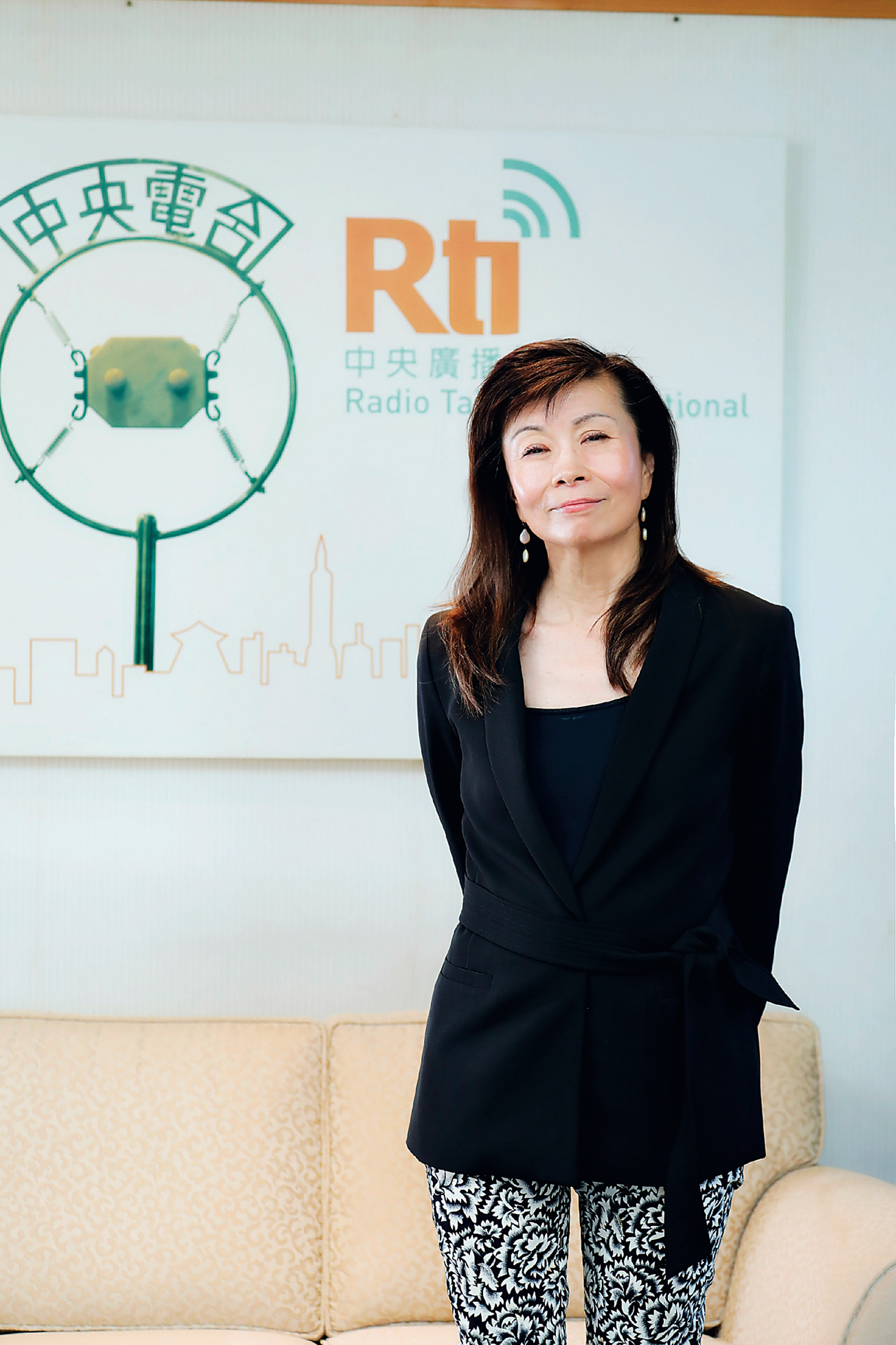 Lu Ping, RTI chairperson, hopes that RTI will continue to address serious issues of public interest in the future. (photo by Jimmy Lin)