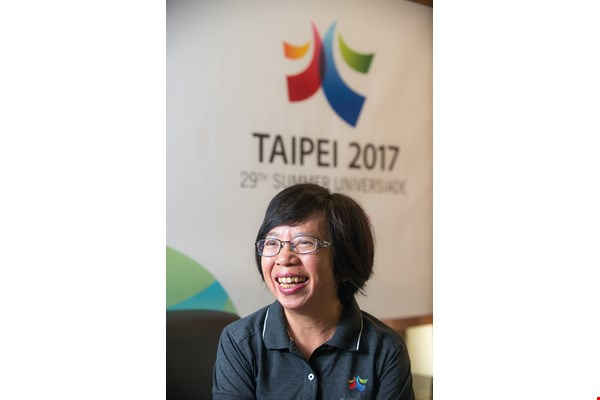 """Taipei's hosting of the Universiade will help the world see Taiwan at her best,"" says TUOC chief executive Su Li-chiung."