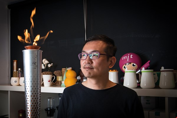 UID Create creative director Jimmy Chang hopes to highlight the beauty of Taiwanese innovation and tradition through the torch design.