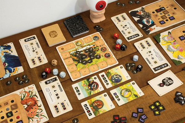 Two years in the making, Taiwan Monsters Brawl is a light strategy boardgame suitable for all ages. (courtesy of Chiaos Creative Inc.)