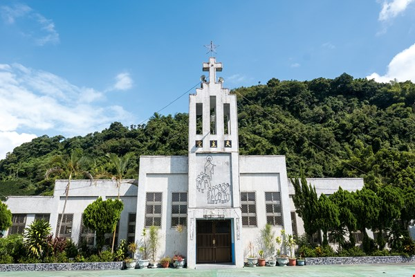 The Church of Our Lady of Lourdes in Hualien County's Yuli Township.