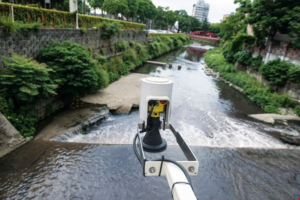 Taoyuan has installed more than 60 networked devices that measure rainfall and detect water levels, providing real-time warnings about potential flooding.