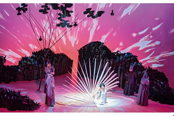 Paradise Interrupted: This one-act opera, an international coproduction inspired by a 16th-century Kunqu piece, premiered worldwide in 2015, and will be performed at Weiwuying during the center's two-and-a-half-month opening season.