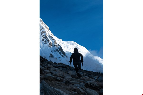 Mountain climbing is a way to experience the natural world, one that gives climbers a sense of being truly and vibrantly alive.