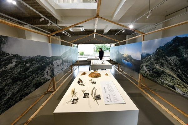 "Creators find inspiration in the mountains. The photo shows the Taitung Design Center's ""Raw Trip: A Trip of Collecting Taitung."""
