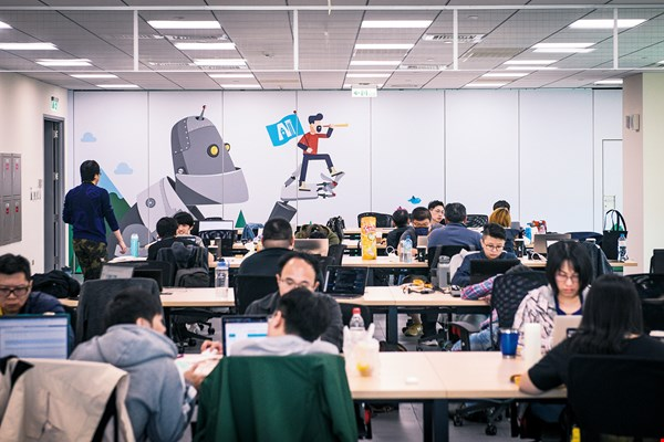 Taiwan AI Academy's well-trained graduates will play an invaluable role in the business world. (photo by Kent Chuang)