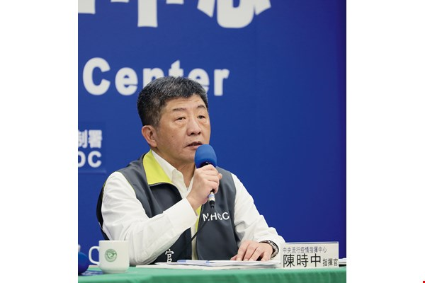 Minister of Health and Welfare Chen Shih-chung's expert leadership of the pandemic response team has made him a hero in the eyes of the public. (photo by Jimmy Lin)