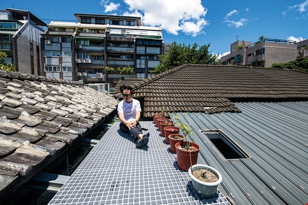 Chiu's Living Lab offers a view of the sky that's rare in pricey Taipei.